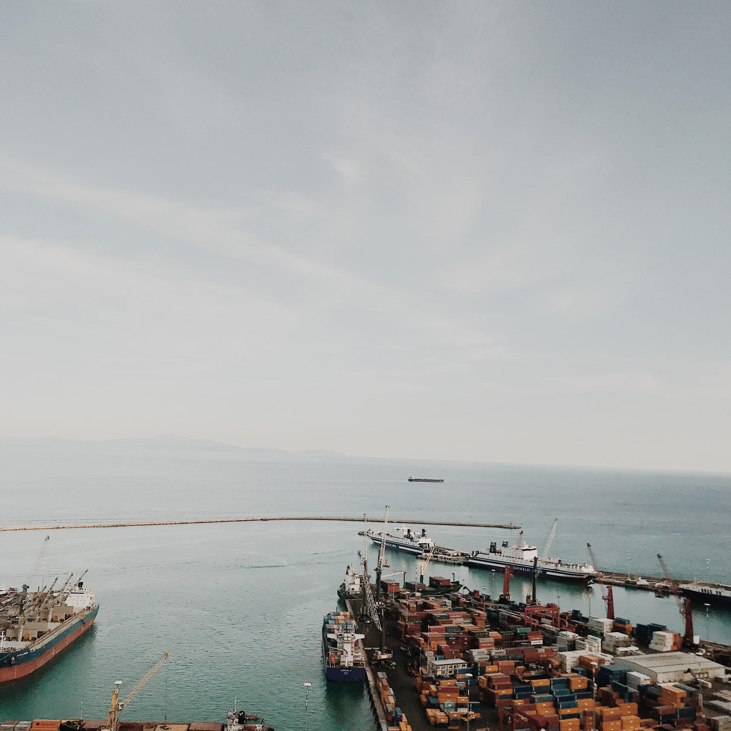Vue du port - Salernes