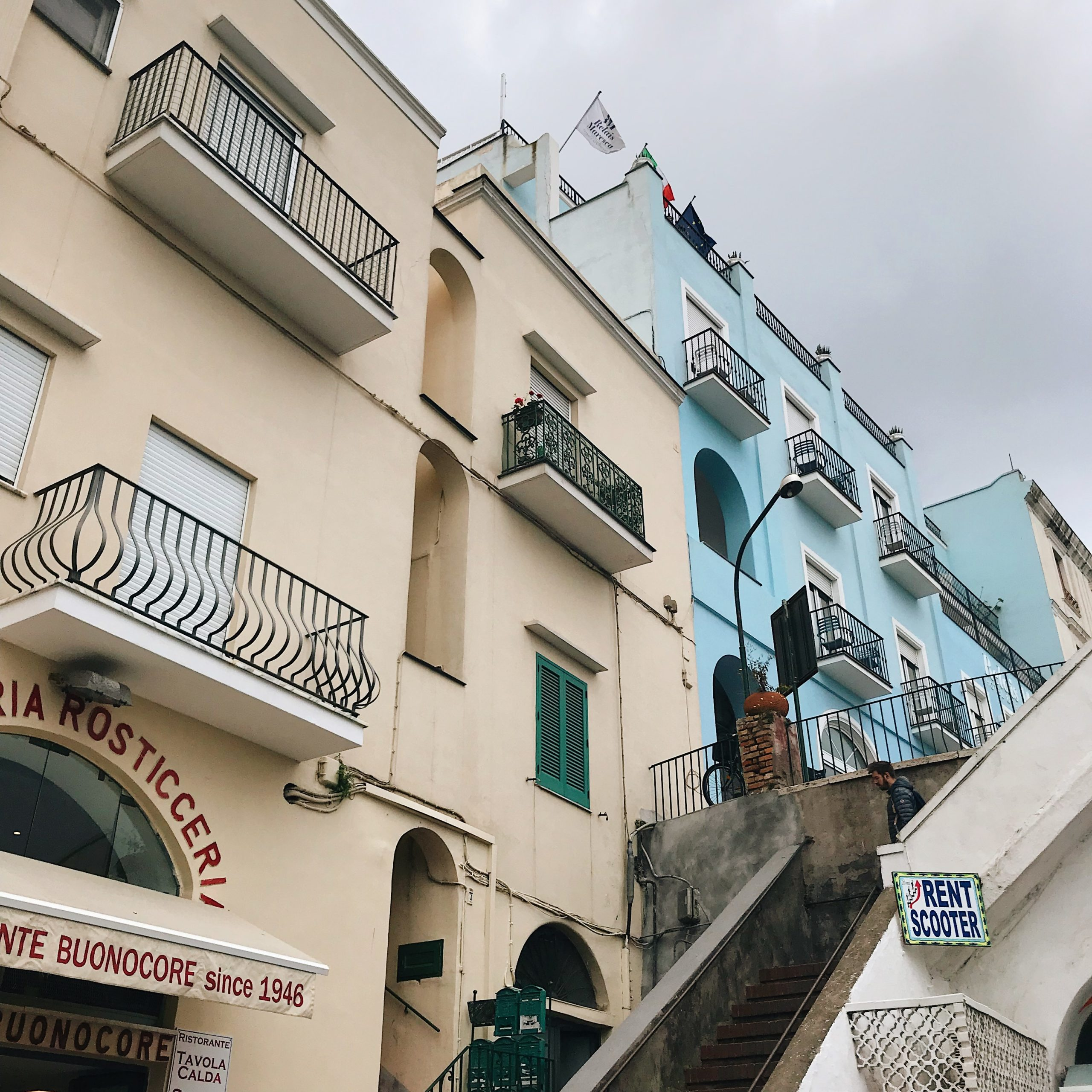 Capri et ses maisons - île de Capri