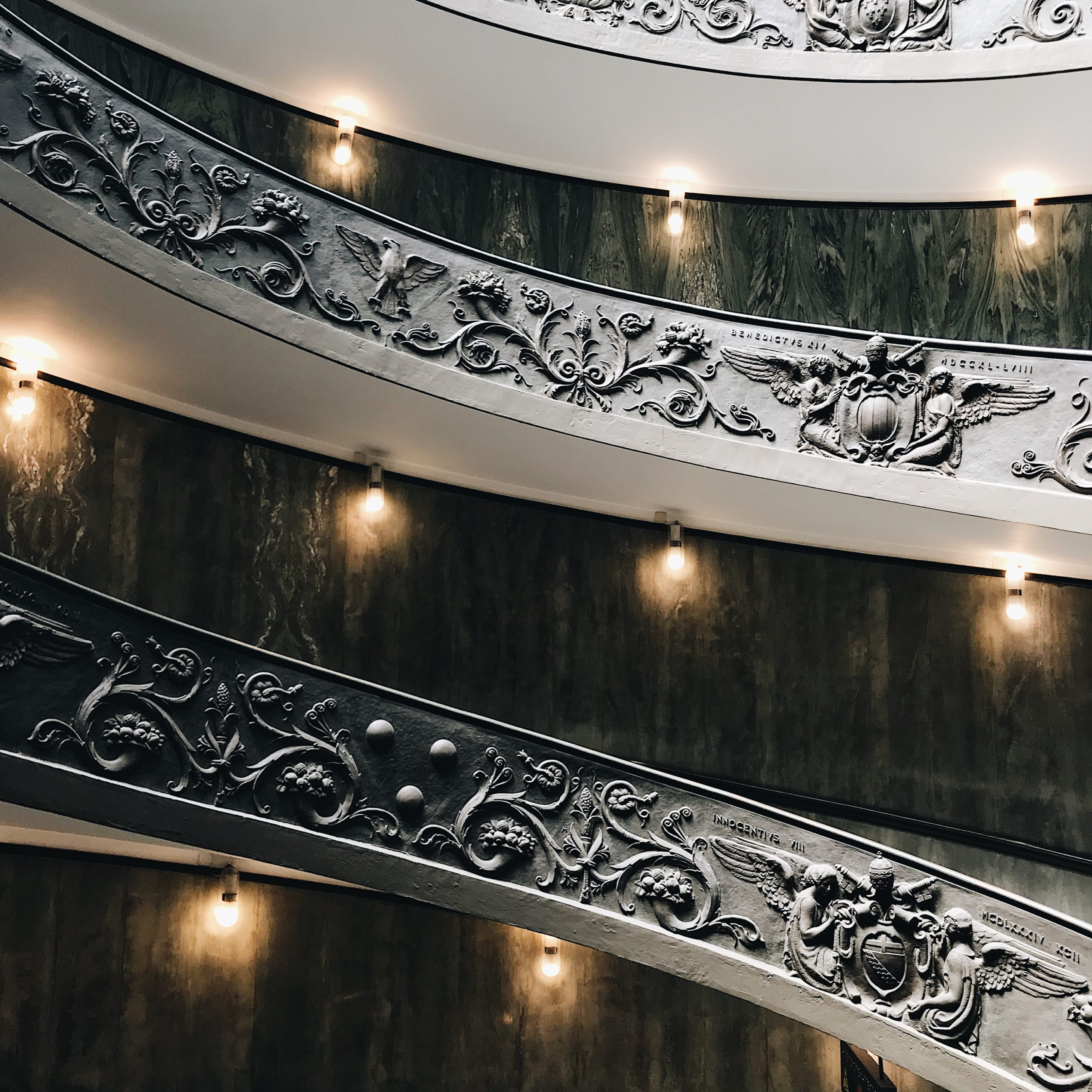 Escalier - Musée du Vatican