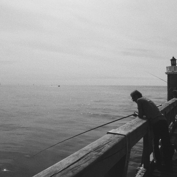 Le pêcheur - Capbreton