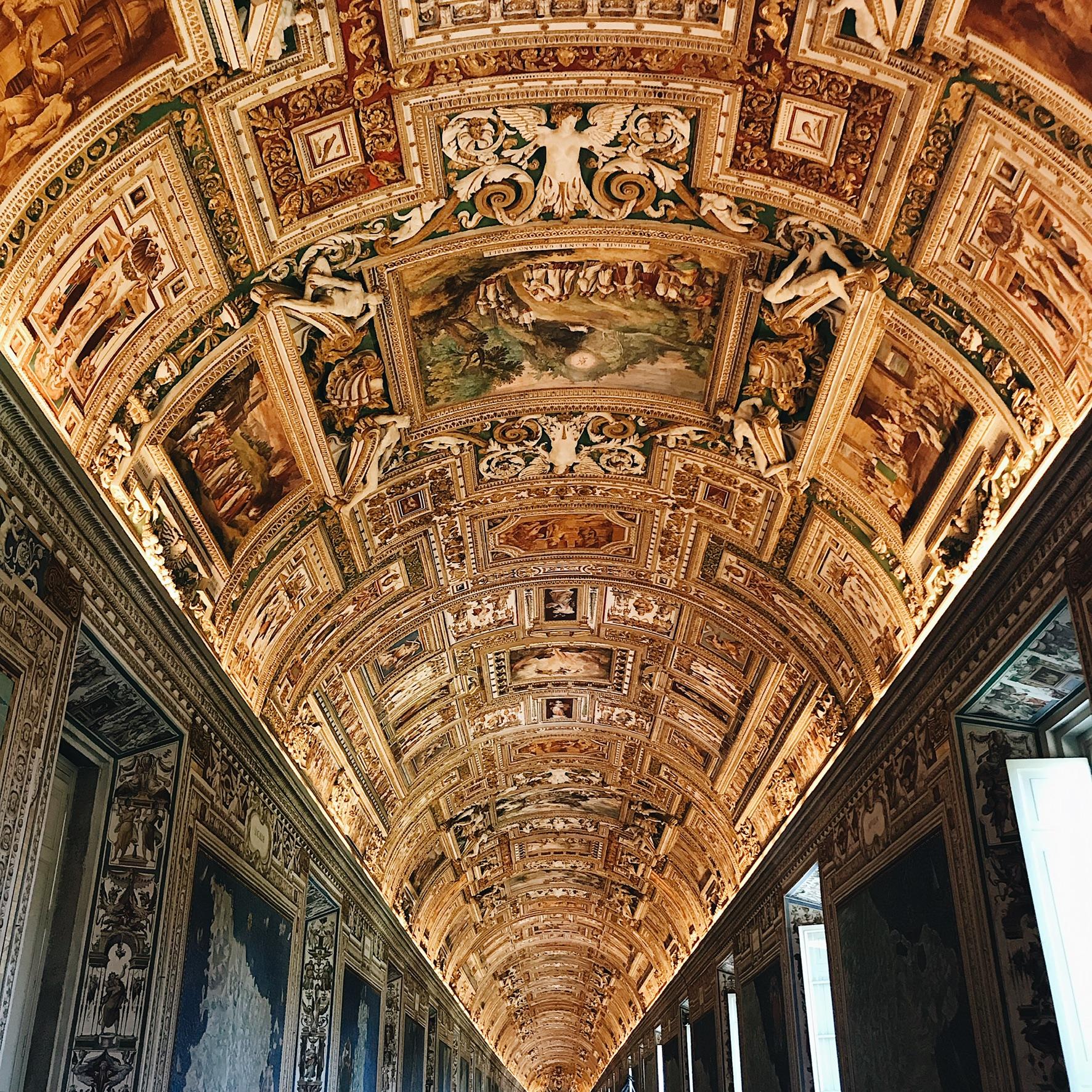 Plafond - Musée du Vatican