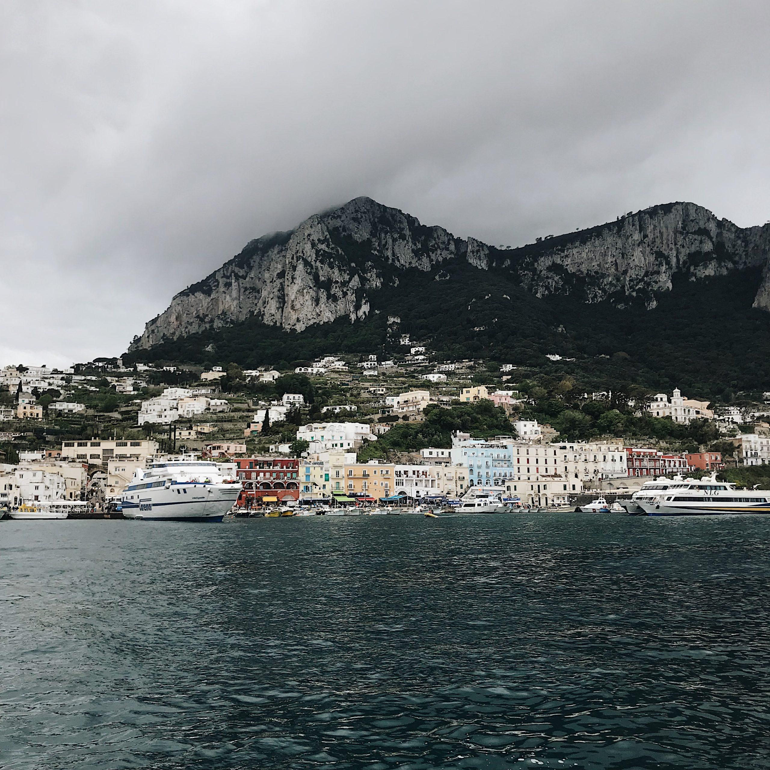 Vue sur l'île - Capri