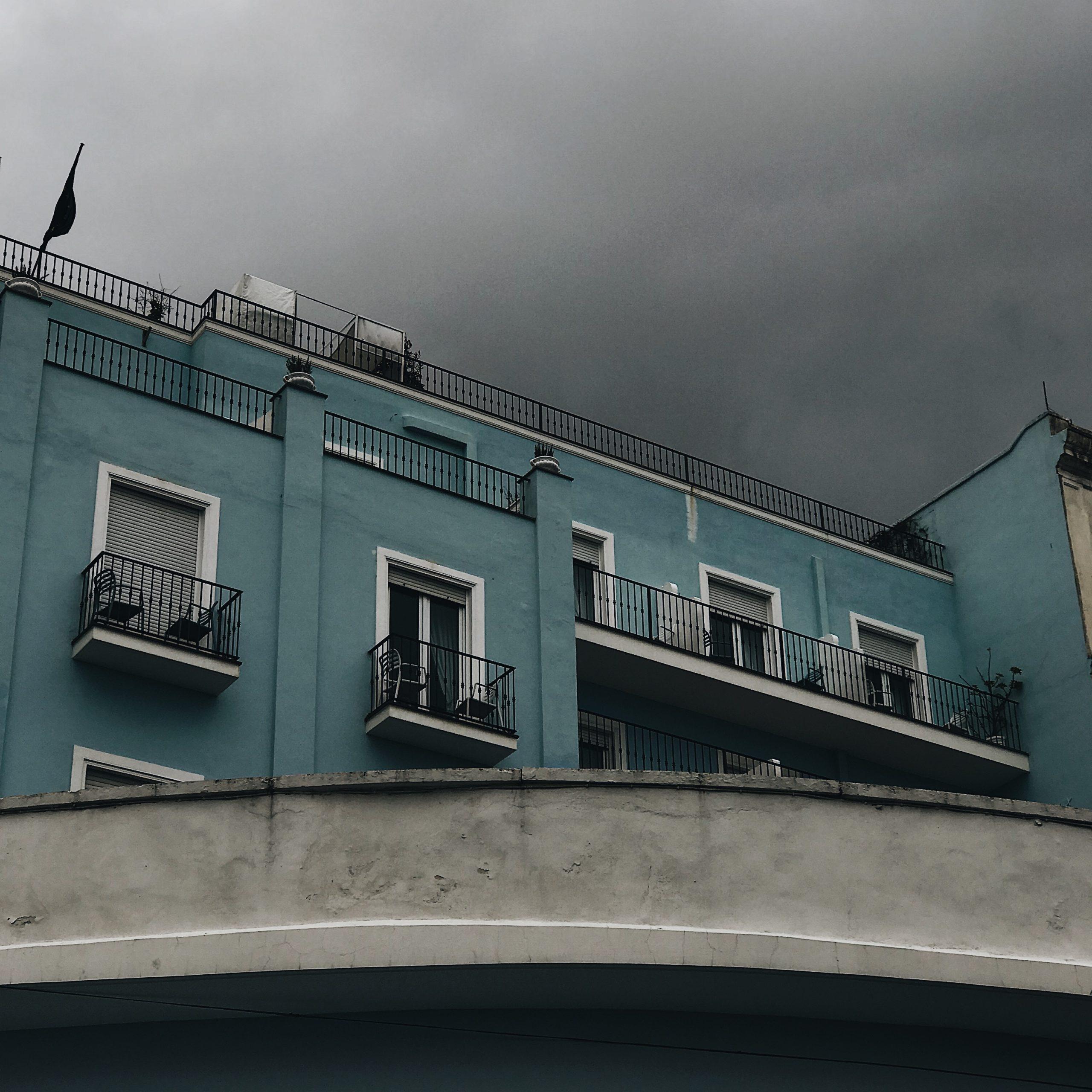 Maison bleue - Capri